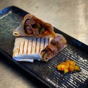 Teriaki Beef Wrap